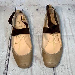 NWOT Jessica Simpson ballerina flats.